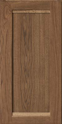 Square Recessed Panel - Veneer (AC8H) Hickory in Husk - Wall