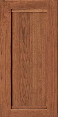 Square Recessed Panel - Veneer (AC8H) Hickory in Praline - Wall