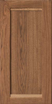 Square Recessed Panel - Veneer (AC8H) Hickory in Rye - Wall