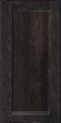 Square Recessed Panel - Veneer (AC8H) Hickory in Slate - Wall