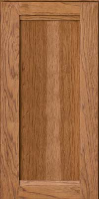 Square Recessed Panel - Veneer (AC8H) Hickory in Sunset - Wall