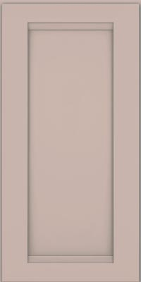 Square Recessed Panel - Veneer (SNM1) Maple in Chai w/Cinder Glaze - Wall