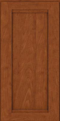 Square Recessed Panel - Veneer (SNM) Maple in Chestnut - Wall