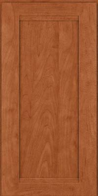Square Recessed Panel - Veneer (SNM) Maple in Cinnamon - Wall