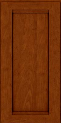 Square Recessed Panel - Veneer (SNM) Maple in Cinnamon w/Onyx Glaze - Wall