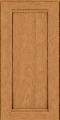 Square Recessed Panel - Veneer (SNM) Maple in Ginger w/Sable Glaze - Wall