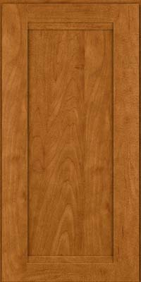 Square Recessed Panel - Veneer (SNM) Maple in Golden Lager - Wall