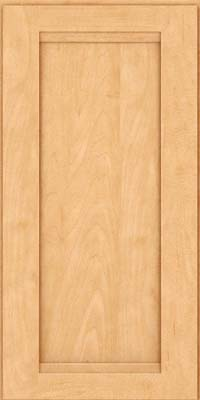 Square Recessed Panel - Veneer (SNM) Maple in Honey Spice - Wall