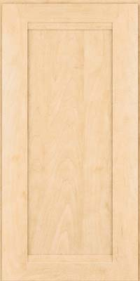 Square Recessed Panel - Veneer (SNM) Maple in Natural - Wall