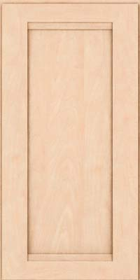 Square Recessed Panel - Veneer (SNM) Maple in Parchment - Wall