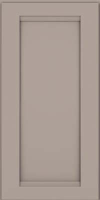 Square Recessed Panel - Veneer (SNM) Maple in Pebble Grey - Wall