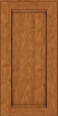 Square Recessed Panel - Veneer (SNM) Maple in Praline w/Onyx Glaze - Wall