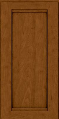 Square Recessed Panel - Veneer (SNM) Maple in Rye w/Sable Glaze - Wall