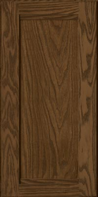 Square Recessed Panel - Veneer (AC8O1) Oak in Hazel - Wall