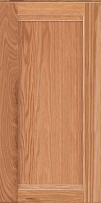 Square Recessed Panel - Veneer (AC8O) Oak in Honey Spice - Wall