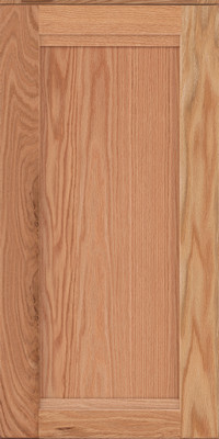 Square Recessed Panel - Veneer (AC8O) Oak in Natural - Wall