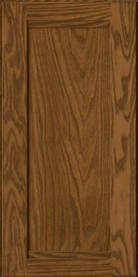 Square Recessed Panel - Veneer (AC8O) Oak in Rye - Wall