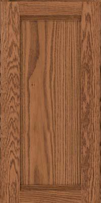 Square Recessed Panel - Veneer (AC8O) Oak in Toffee - Wall