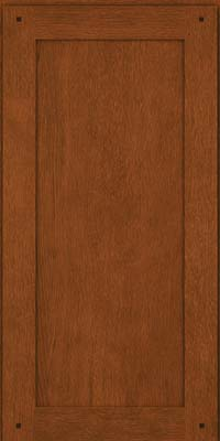 Square Recessed Panel - Veneer (SU) Quartersawn Oak in Autumn Blush - Wall