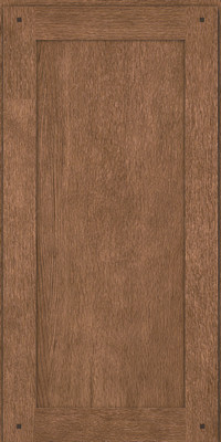 Square Recessed Panel - Veneer (SU) Quartersawn Oak in Husk - Wall