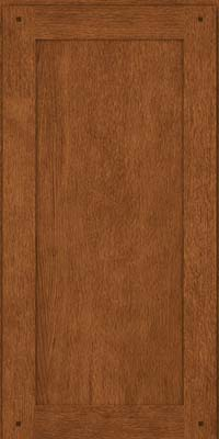 Square Recessed Panel - Veneer (SU) Quartersawn Oak in Rye - Wall