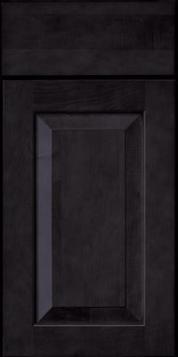 Square Raised Panel - Solid (WLM) Maple in Slate - Base