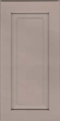 Square Raised Panel - Solid (WLM) Maple in Pebble Grey - Wall
