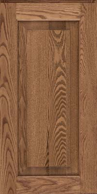 Square Raised Panel - Solid (WLO) Oak in Husk - Wall