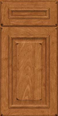 Square Raised Panel - Solid (GRM) Maple in Burnished Praline - Base