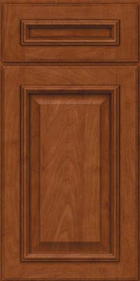 Square Raised Panel - Solid (GRM) Maple in Chestnut - Base