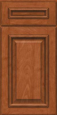 Square Raised Panel - Solid (GRM) Maple in Cinnamon - Base