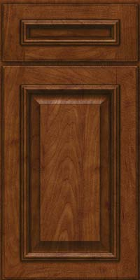 Square Raised Panel - Solid (GRM) Maple in Cognac - Base