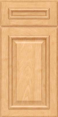 Square Raised Panel - Solid (GRM) Maple in Honey Spice - Base