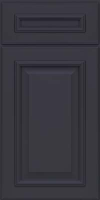 Square Raised Panel - Solid (GRM) Maple in Midnight - Base