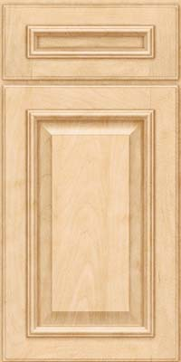 Square Raised Panel - Solid (GRM) Maple in Natural - Base