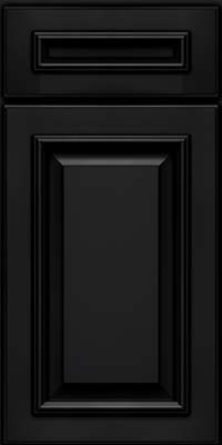 Square Raised Panel - Solid (GRM) Maple in Onyx - Base