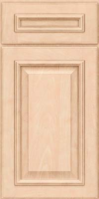 Square Raised Panel - Solid (GRM) Maple in Parchment - Base