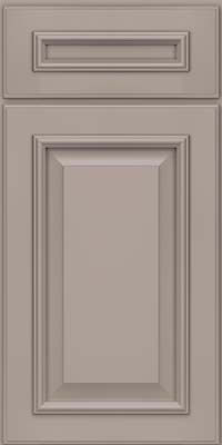 Square Raised Panel - Solid (GRM) Maple in Pebble Grey - Base
