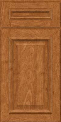 Square Raised Panel - Solid (GRM) Maple in Praline - Base