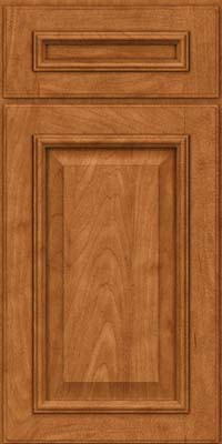 Square Raised Panel - Solid (GRM) Maple in Praline w/Mocha Highlight - Base