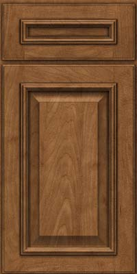 Square Raised Panel - Solid (GRM) Maple in Rye - Base