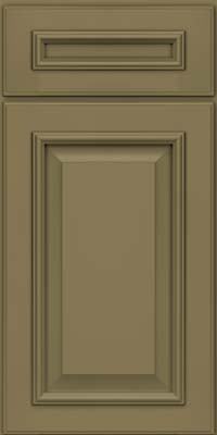 Square Raised Panel - Solid (GRM) Maple in Sage - Base