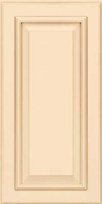 Square Raised Panel - Solid (GRM) Maple in Biscotti w/Cocoa Glaze - Wall