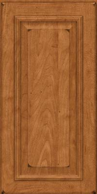 Square Raised Panel - Solid (GRM) Maple in Burnished Praline - Wall