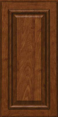 Square Raised Panel - Solid (GRM) Maple in Cognac - Wall