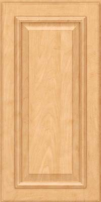 Square Raised Panel - Solid (GRM) Maple in Honey Spice - Wall