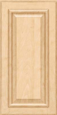 Square Raised Panel - Solid (GRM) Maple in Natural - Wall
