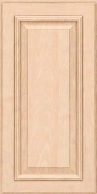 Square Raised Panel - Solid (GRM) Maple in Parchment - Wall