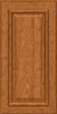 Square Raised Panel - Solid (GRM) Maple in Praline w/Mocha Highlight - Wall
