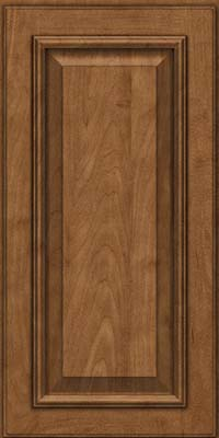 Square Raised Panel - Solid (GRM) Maple in Rye - Wall